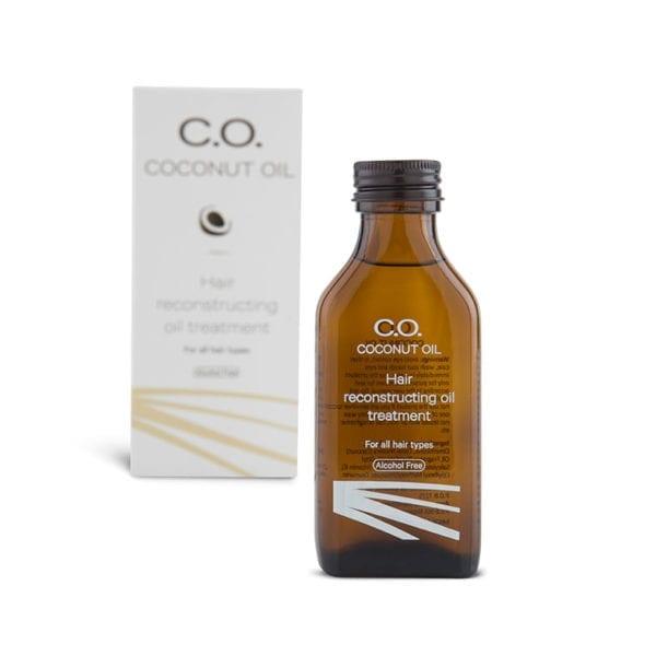 שמן קוקוס Dry Oil אריזה ובקבוק